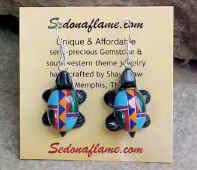 Multi Inlaid Turtle�#A